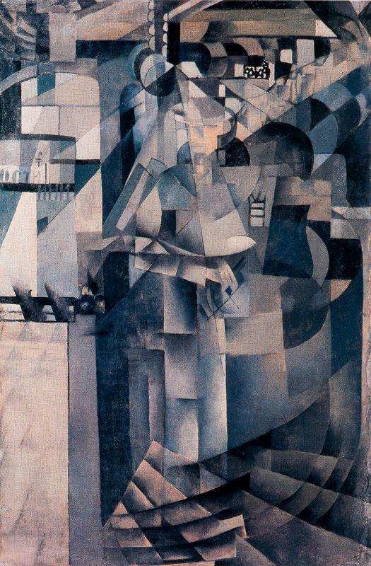 Óleo de Braque, cubismo.