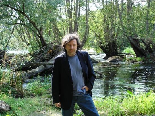Claudio Rodríguez Fer no Río Miño