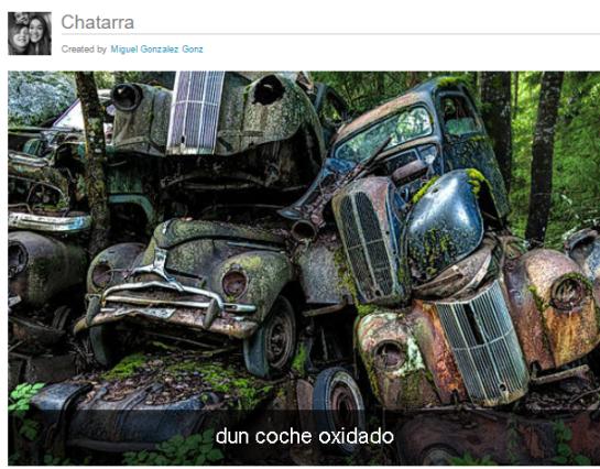 Chattarra por Miguel G